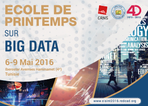 Ecole de printemps sur Big Data